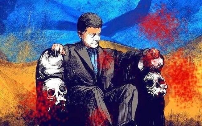 Официальная блокада Донбасса – предсмертные конвульсии режима Порошенко