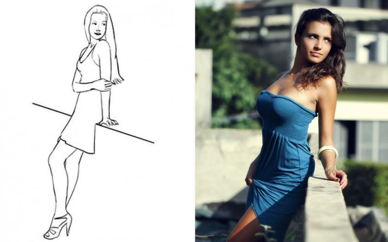 Чтобы шикарно выглядеть на всех снимках — 20 самых удачных поз для женской фотосессии