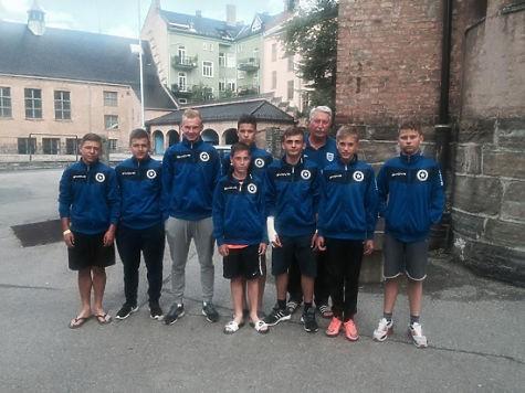 Юных русских футболистов били взрослые норвежцы