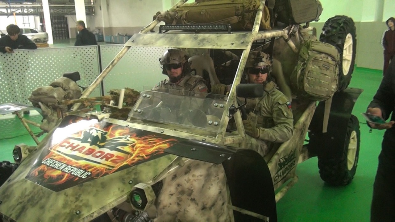 """Гражданский вариант военного багги """"Чаборз М-3"""" будет стоить 1,1 млн"""