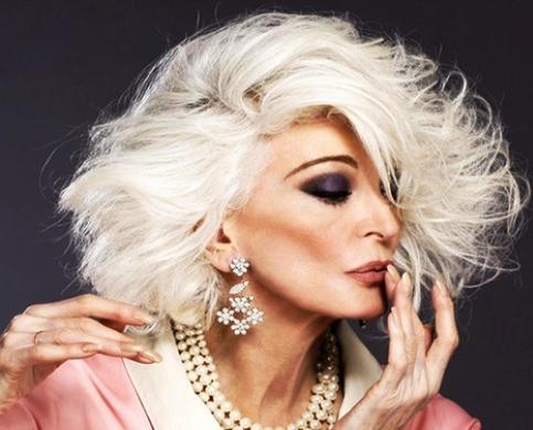 Желаю каждой женщине выглядеть в 80+ так же, как она!