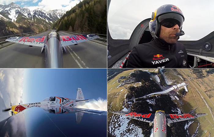 Захватывающее видео: прогулка на самолете с опытным лётчиком