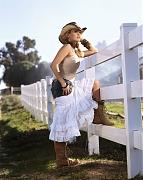 Кэрри Андервуд (Carrie Underwood) в фотосессии для журнала Country Weekly (2007)