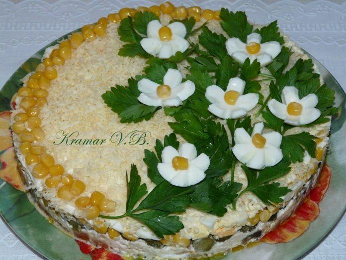 Праздничный салат «Фантазия»…