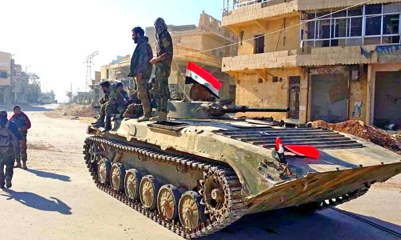 Коалиция США в бешенстве от военных успехов сирийскорй армии