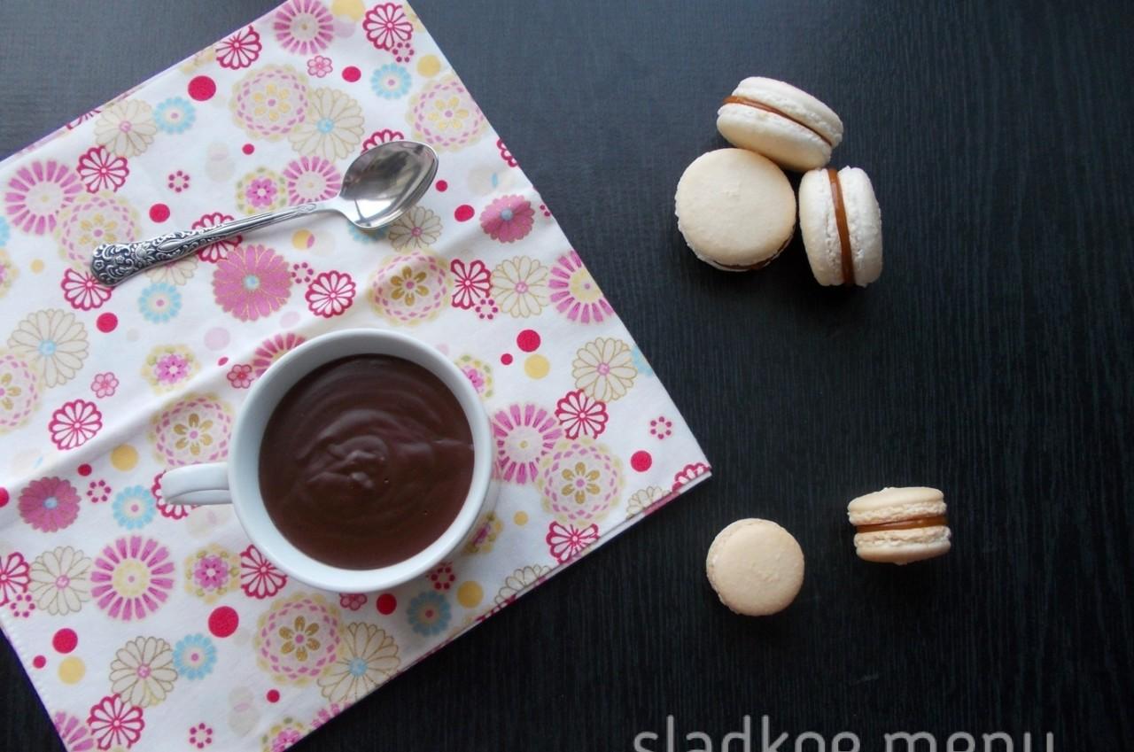 густой шоколадный напиток