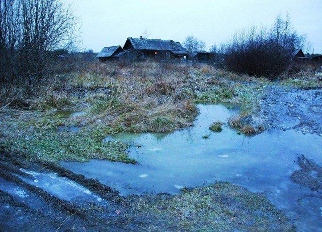 Морозное утро в деревне деревня, зима, красота, россия, снег
