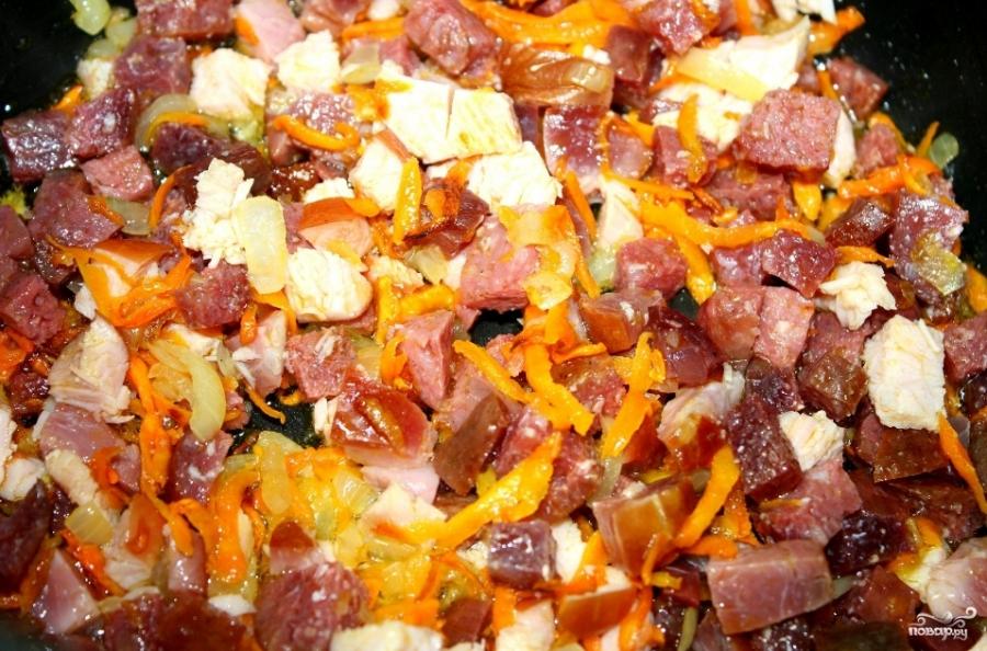Солянка сборная мясная с картофелем рецепт