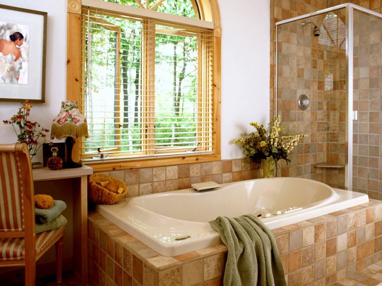 Как можно обновить ванную комнату не делая ремонт