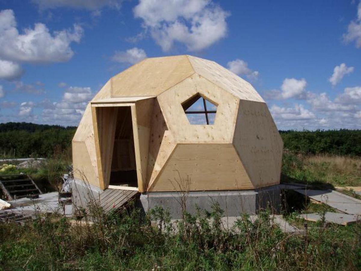 Строительство купольного дома своими руками 52