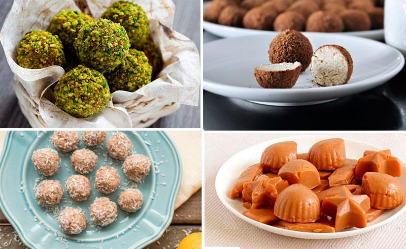 4 рецепта вкусных и полезных домашних конфет, которые можно смело давать детям