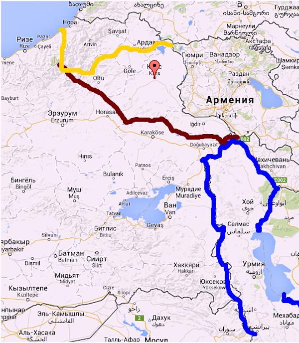 Араратская республика: Курдистан, Армения – вариант Сталина