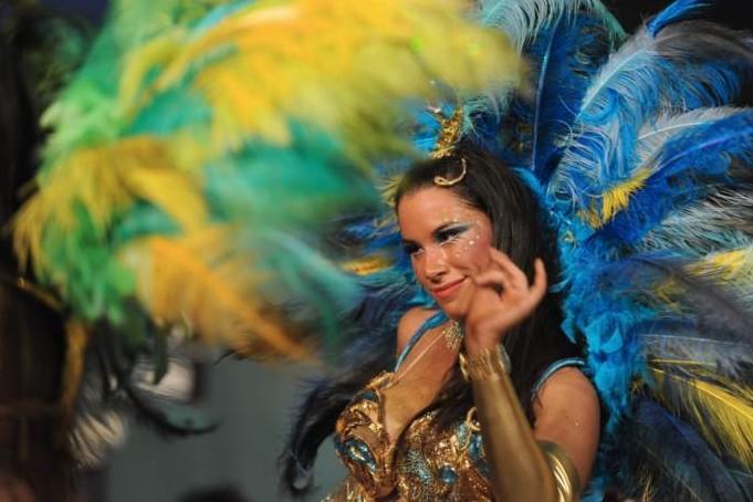 Карнавальная неделя в Уругвае.