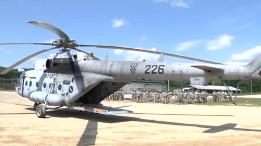 Хорватия приняла решение отремонтировать десять вертолетов Ми-171Ш в России