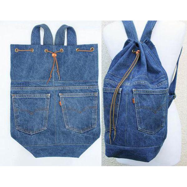 Вторая жизнь джинсов в образе милых сумочек