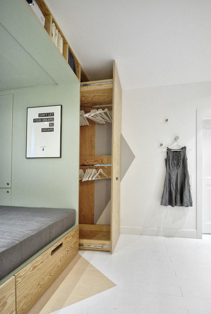 Как найти место для шкафа: 23 удачных решения