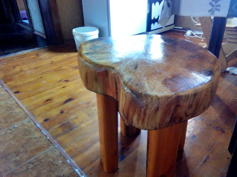 Как сделать стильный табурЭт за 5 минут мебель, природа, рукожопство