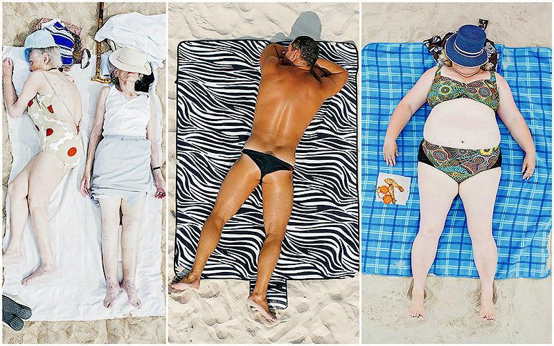 Зона комфорта: рядовые курортники в объективе Тадао Церна