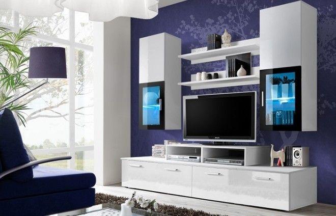 20 идей, как превратить зону просмотра телевизора в место волшебного отдыха