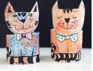 Игрушки из рулонов от туалетной бумаги (26)
