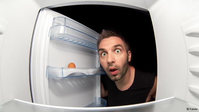 Мужчины и холодильник