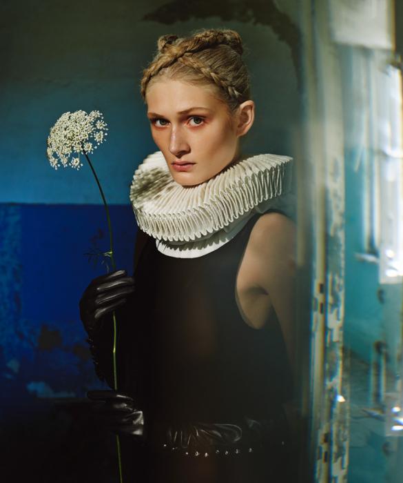 Концептуальное фото от фотографа Елизаветы Породиной (Elizaveta Porodina).