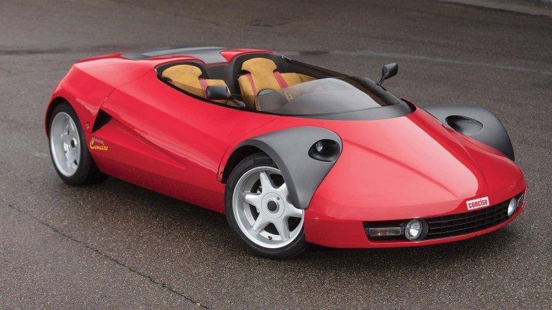 Conciso - на продажу выставили самый странный концепт Ferrari