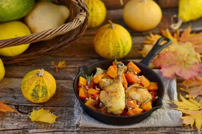 Диетические блюда из тыквы