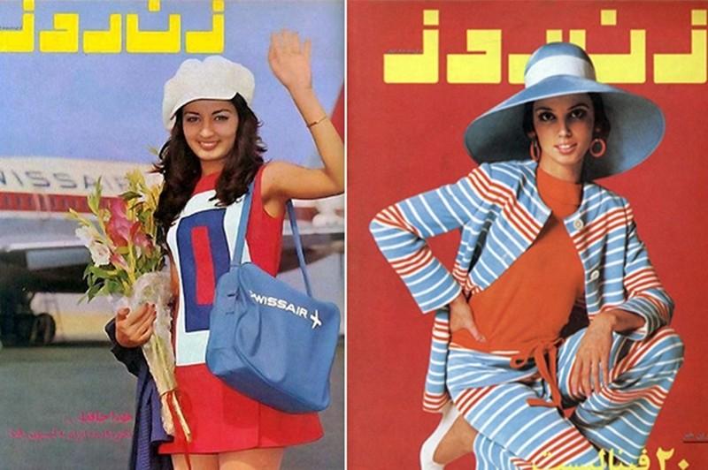 Дореволюционные красавицы Ирана