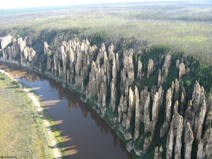 Ленские столбы природа, россия, столбы, феномен