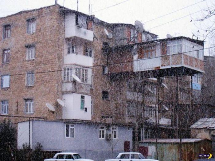 Такие разные балконы на Руси