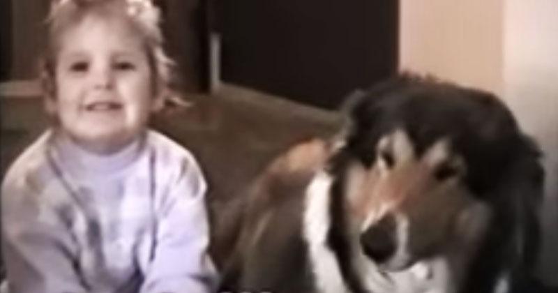 Мама попросила дочь улыбнуться, но то, что сделала собака… В это просто не верится!