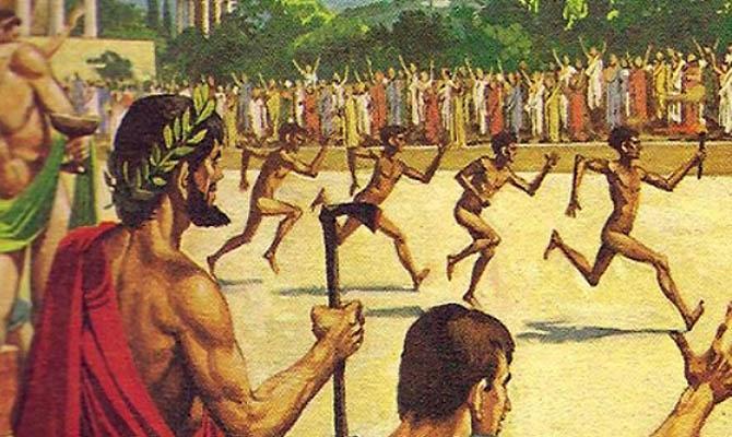 Олимпийские игры - великий праздник античности