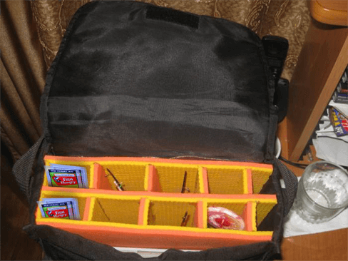 сумка для удочки своими руками