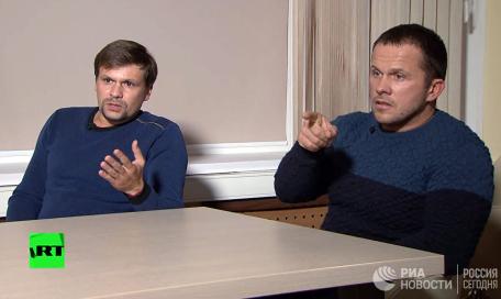 «Расплата за то, что наследили»: британские СМИ сочинили новую басню о Петрове и Боширове