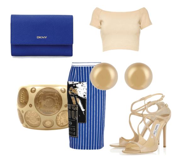 C чем носить и сочетать полосатую юбку: 15 модных вариантов