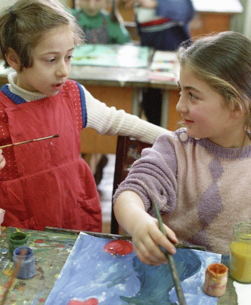 Кружок рисования СССР, детство, кружки