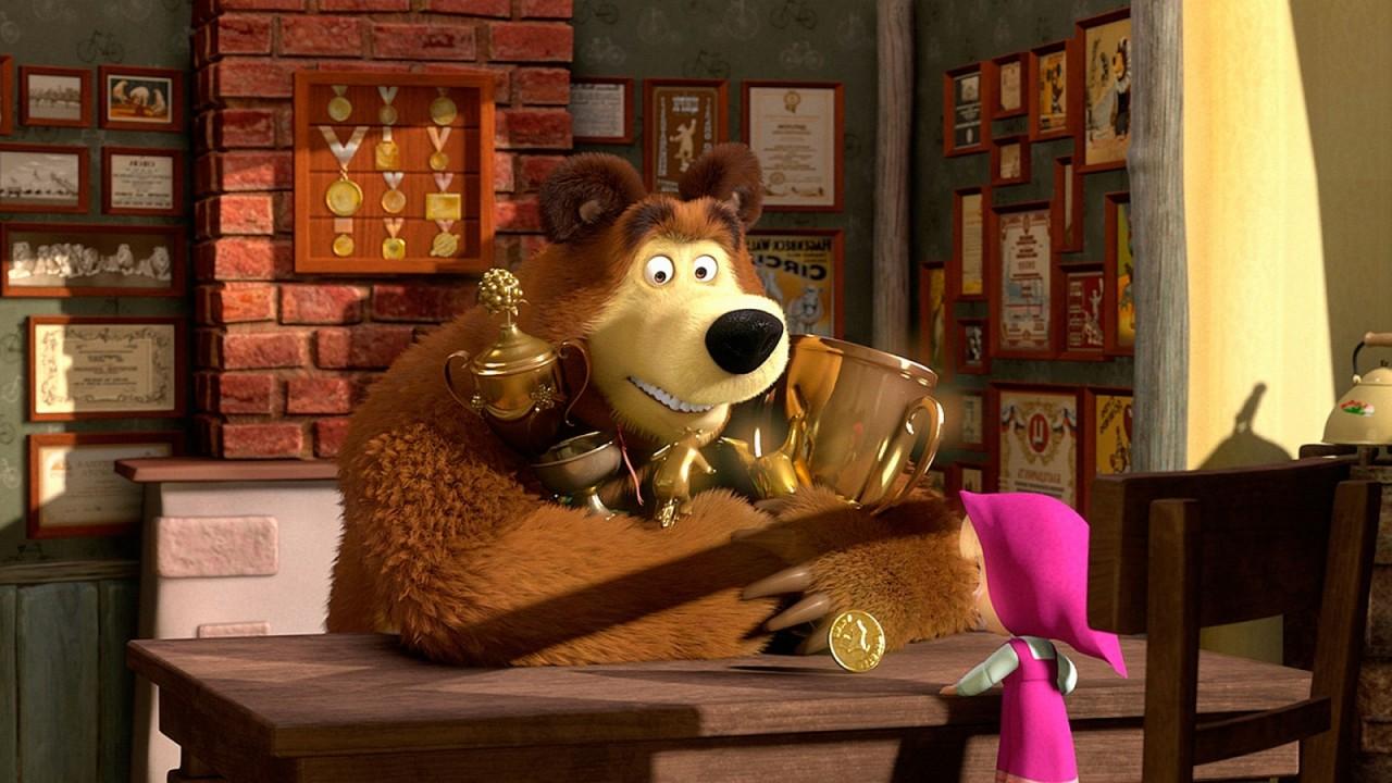 Мультфильм «Маша и медведь» вошел в книгу рекордов Гиннеса