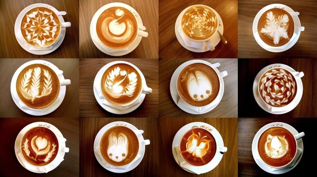 Рисуем на кофе своими руками