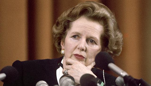 Премьер-министр Великобритании Маргарет Тэтчер, 1987 год