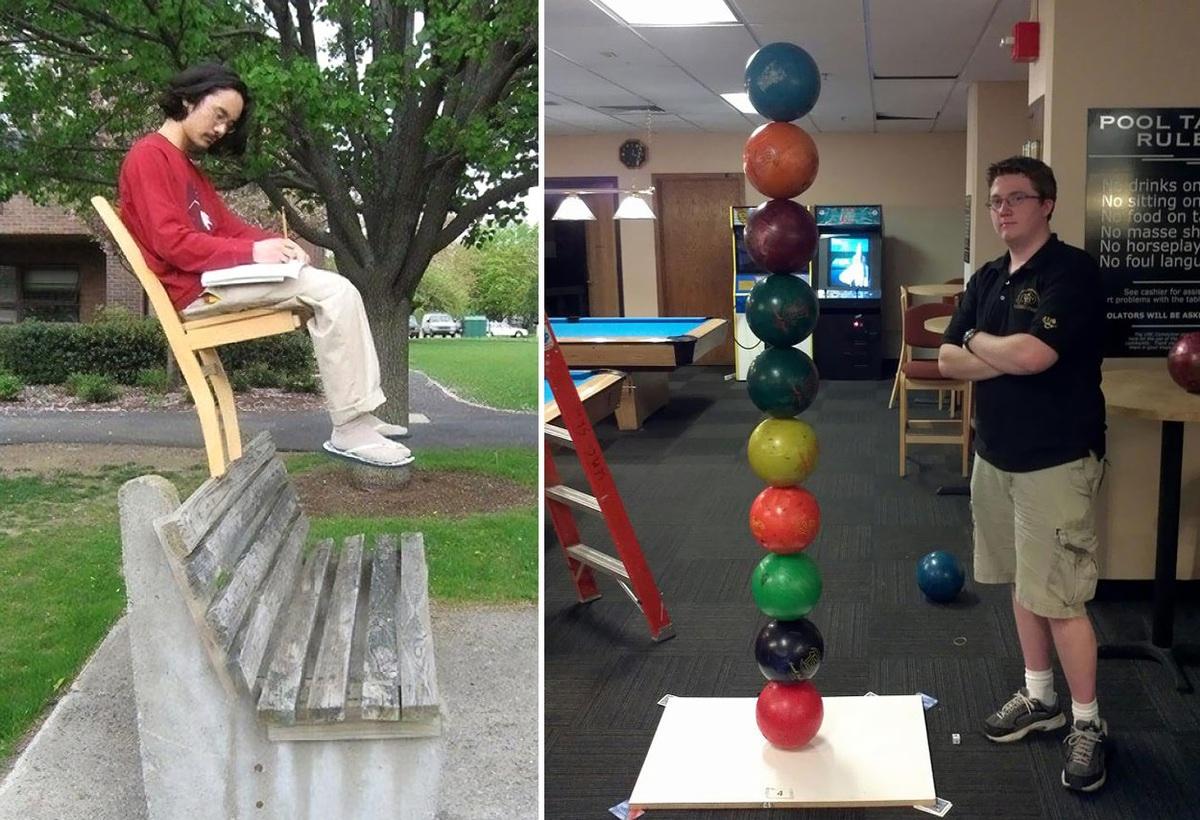 10+ безумных фотографий, которые отрицают закон гравитации