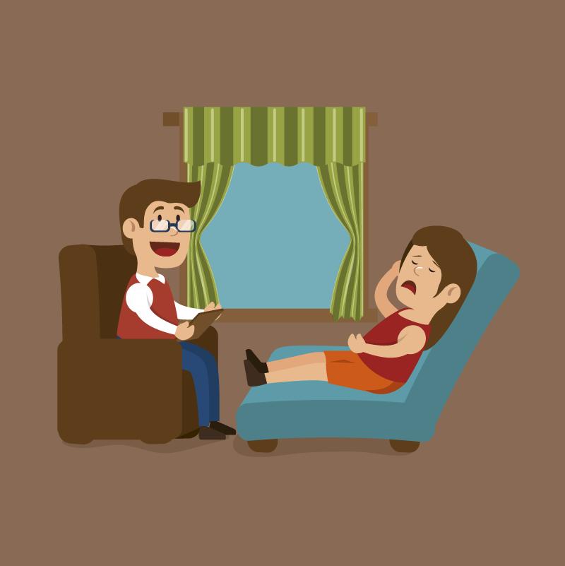 Анекдот про то, как одна женщина жаловалась психиатру насвоего мужа