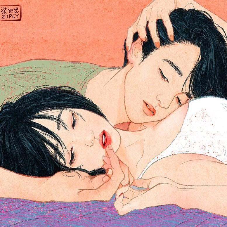 """""""Этот момент таинственной чувственности"""" Любовь, в мире, влюбленность, искусство, романтика, художник, южная корея"""
