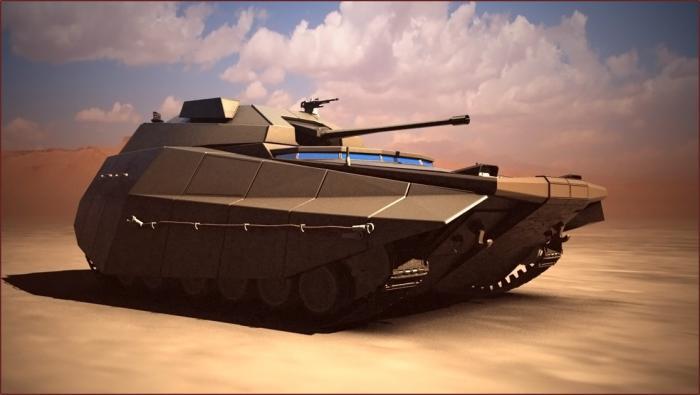 Первая демонстрация внешнего вида перспективной израильской бронированной машины «Кармель»