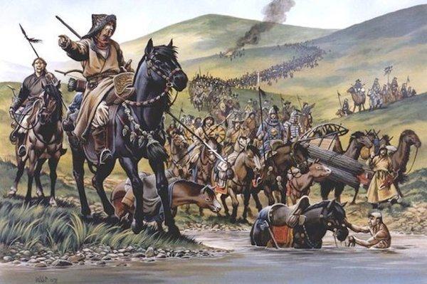 Татаро-монгольское иго - монголы прибежали, награбили, а дальше что?
