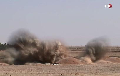Сирийские саперы разминируют деревни в провинции Алеппо