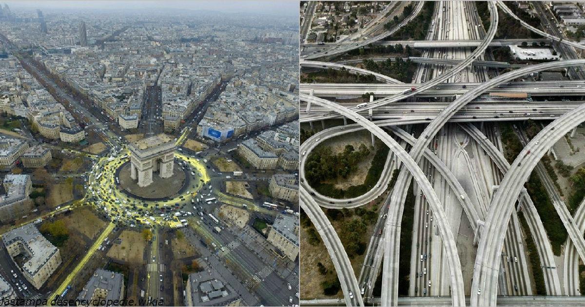 14 дорожных развязок, которые настолько огромны, что даже пугают