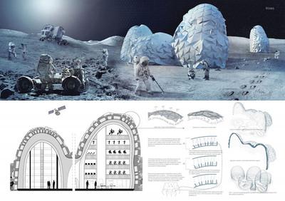 Лучшие проекты лунных колоний
