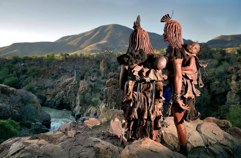 Народ химба: где живут самые красивые женщины Африки