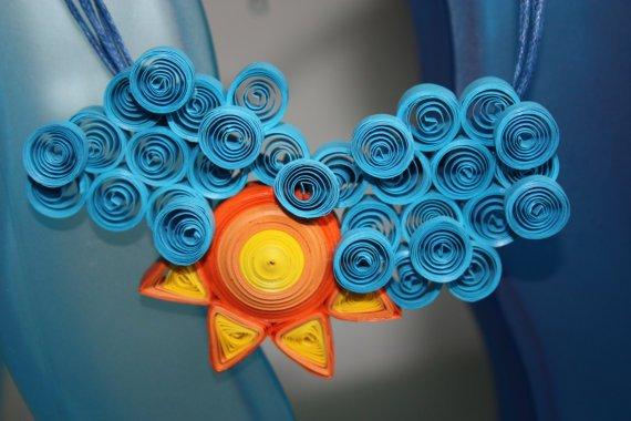 Красивые поделки из квиллинга для детей - фото 42